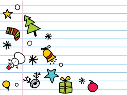 DOODLE CHRISTMAS GAME COUNTDOWN