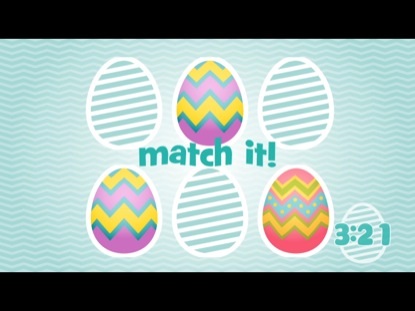 EASTER EGG MATCHING COUNTDOWN