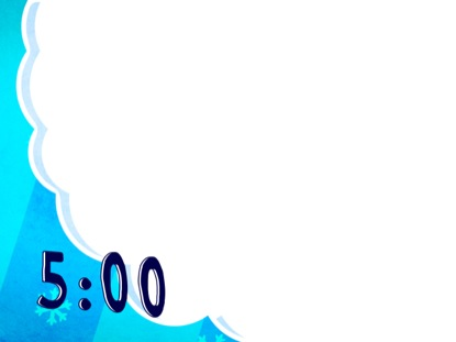 FLUFFY CHRISTMAS BLUE COUNTDOWN