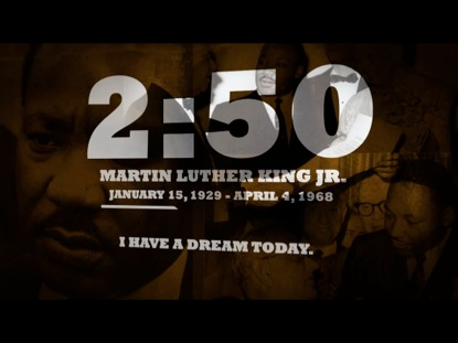 MARTIN LUTHER KING JR. COUNTDOWN