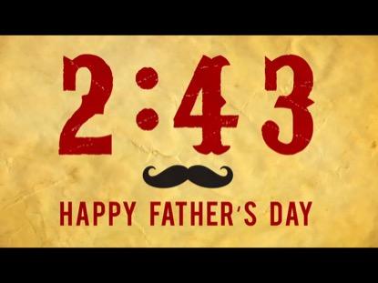 FATHER'S DAY MUSTACHE COUTNDOWN