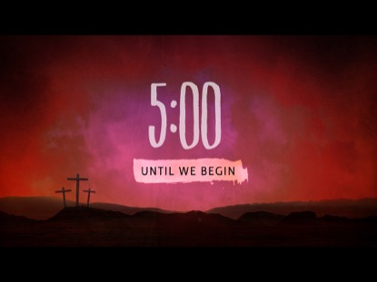 AT THE CROSS COUNTDOWN