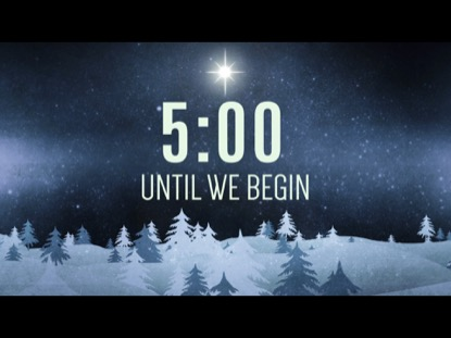 CHRISTMAS FOREST BLUE COUNTDOWN