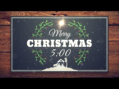 CHRISTMAS MANGER COUNTDOWN