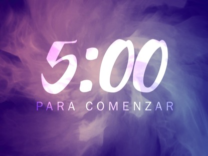 CONSECRATED SPIRIT COUNTDOWN - SPANISH