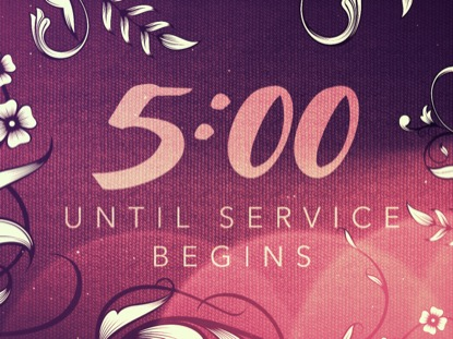FILIGREE FLOWERS COUNTDOWN