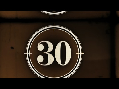 FILM COUNTDOWN CLOCK 30 SECONDS