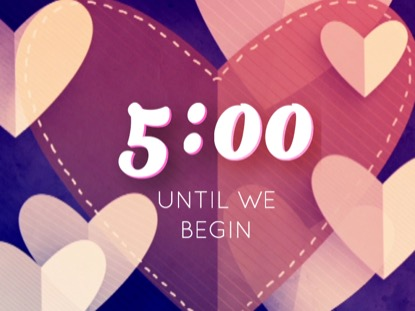 HEARTFELT LOVE COUNTDOWN
