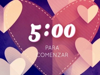 HEARTFELT LOVE COUNTDOWN - SPANISH