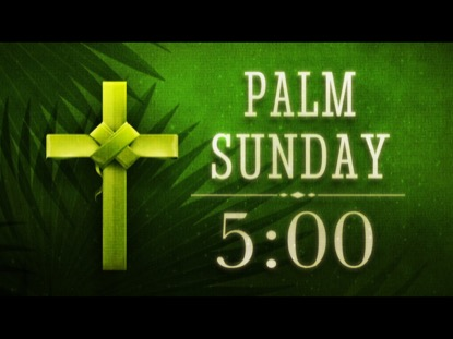 HOLY PALMS COUNTDOWN