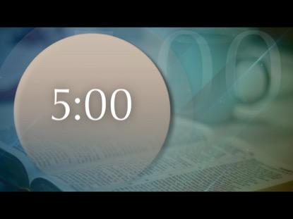 NATIONAL PRAYER BIBLE BLUE COUNTDOWN
