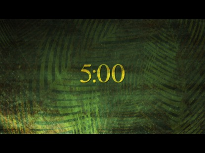 PALM SUNDAY TEXTURE COUNTDOWN