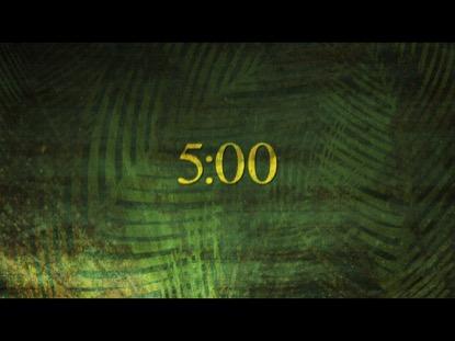 PALM SUNDAY TEXTURE COUNTDOWN