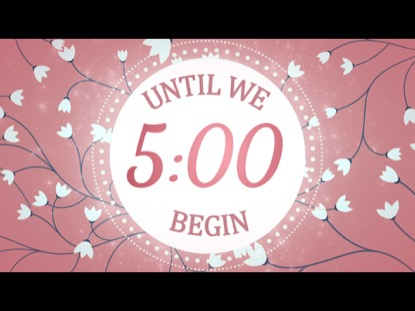 PINK MOTHER'S DAY COUNTDOWN