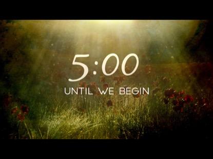 REVEALING NATURE COUNTDOWN
