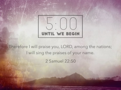 PRAISE SCRIPTURES COUNTDOWN