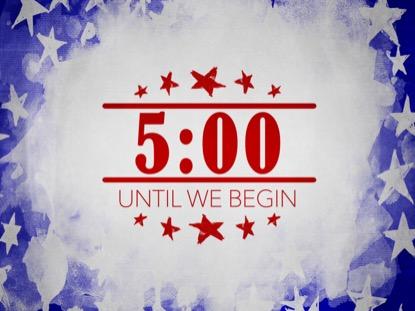 USA HOLIDAY GRUNGE COUNTDOWN