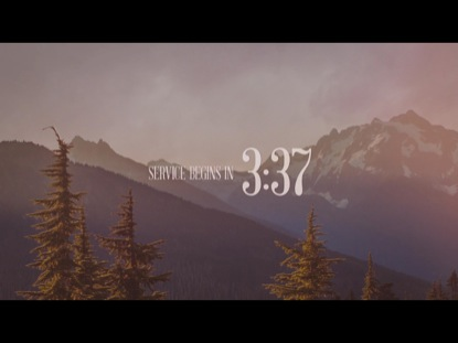 MOUNTAINSCAPE COUNTDOWN