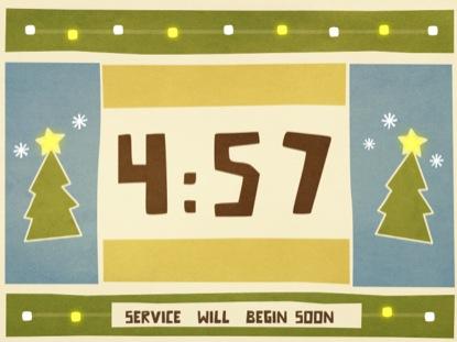 CHRISTMAS CUTOUT COUNTDOWN