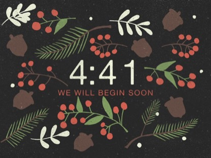 CHRISTMAS PINE COUNTDOWN