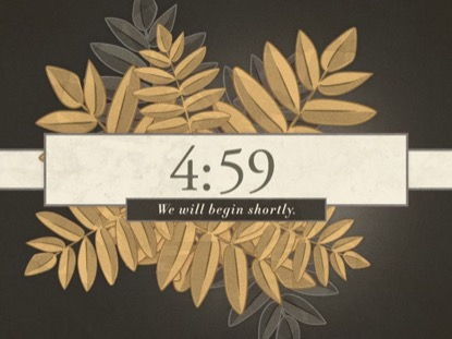 ILLUSTRATED AUTUMN LEAVES COUNTDOWN
