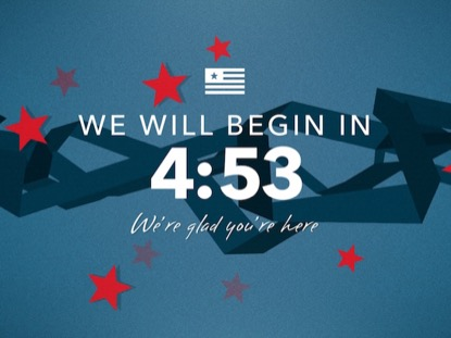 PATRIOTIC RIBBONS COUNTDOWN