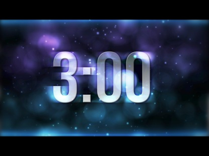 BLUE STAR PARTICLES COUNTDOWN