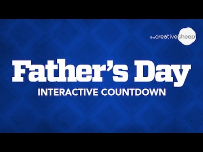 FATHER'S DAY INTERACTIVE COUNTDOWN