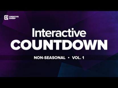INTERACTIVE COUNTDOWN NON-SEASONAL VOLUME 1