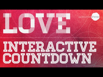 LOVE INTERACTIVE COUNTDOWN