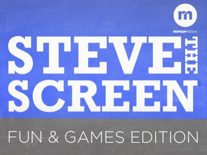 STEVE THE SCREEN FUN GAMES EDITION