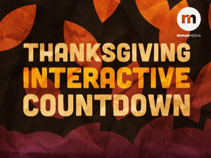 THANKSGIVING INTERACTIVE COUNTDOWN