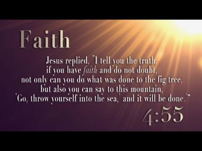 FAITH 5 MINUTE COUNTDOWN