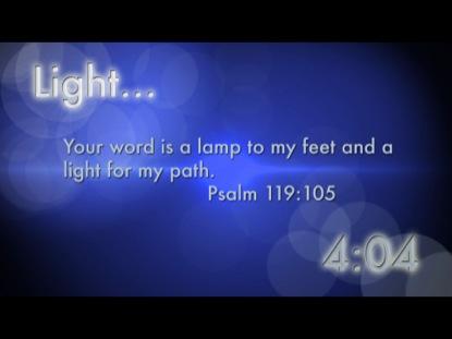LIGHT SCRIPTURE COUNTDOWN