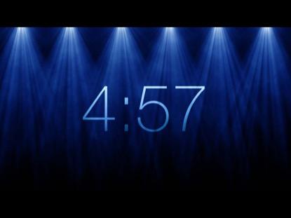 ROTATING LIGHTS COUNTDOWN