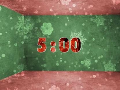 CHRISTMAS SNOWFLAKE COUNTDOWN 2