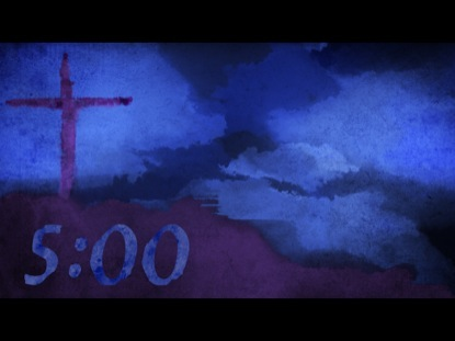 LENT EASTER WATERCOLOR COUNTDOWN