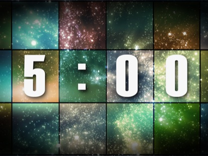 STARS AND SQUARES COUNTDOWN