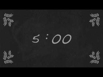 AUTUMN CHALK COUNTDOWN