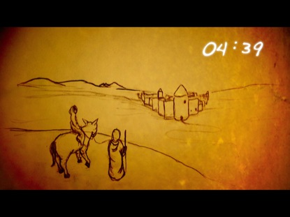 NATIVITY SKETCHES COUNTDOWN
