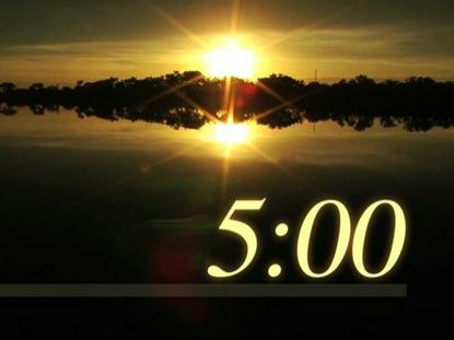 SUNSET COUNTDOWN