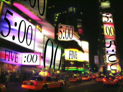 TIME SQUARE COUNTDOWN
