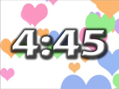 COLOR HEART COUNTDOWN