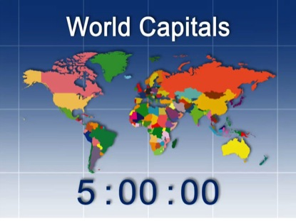 WORLD CAPITALS COUNTDOWN