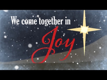 WHEN WE ARE TOGETHER - A CHRISTMAS WELCOME