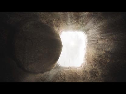JESUS STONE ROLLED AWAY