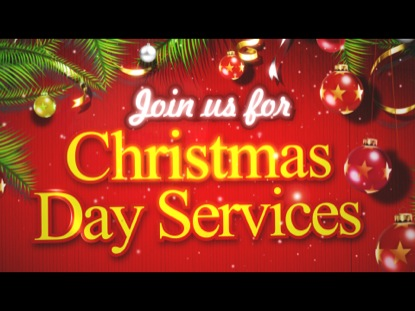 CHRISTMAS DAY SERVICE INVITE