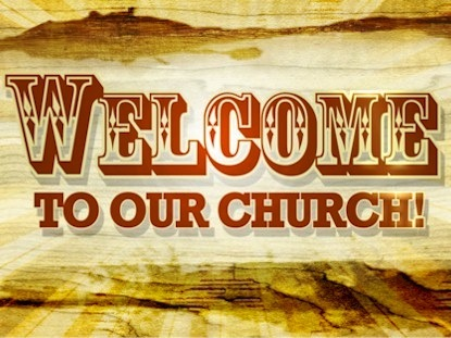 Preview for WELCOME TO OUR CHURCH
