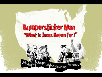 BUMPERSTICKER MAN JESUS
