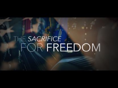 THE SACRIFICE FOR FREEDOM